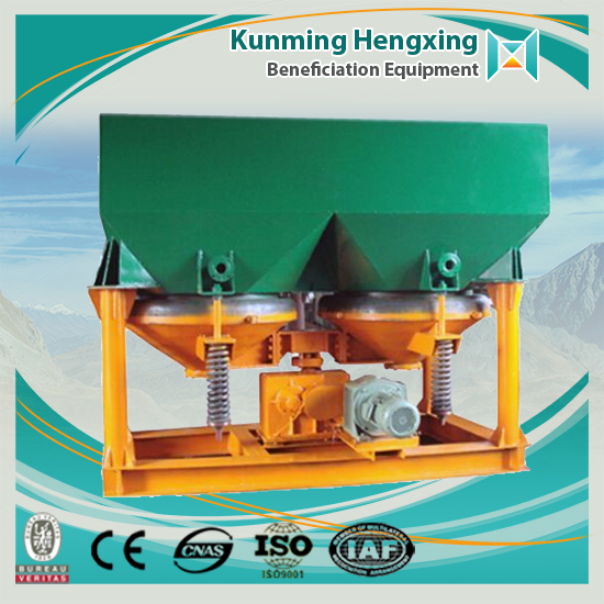 gravity mining separator for gold refining