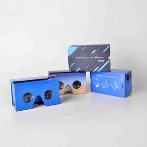 High Quality Custom Printing 3D Vr Virtual Reality Google Cardboard V2 Glasses Promotion