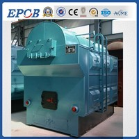wood pellet fired steam boiler with fixed grate by cheap price