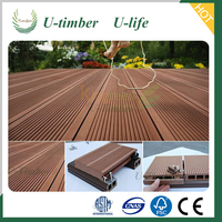 Outdoor composite decking durable garden WPC decking wood furniture