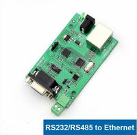 Serial RS232 RS485 SERIAL To TCP / IP RJ45 Lan Ethernet Server Module CONVERTER