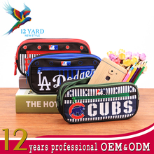 2017 best-selling Customized print pvc round large cute case pencil box for school student kids