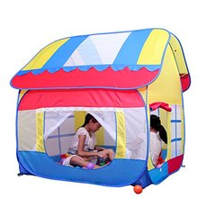 Kids Indoor Play Big Fun Playhouse Tent