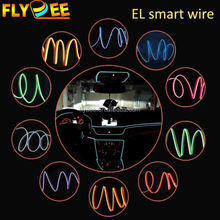 Cheap Multi color festival 1.4mm 2.3mm 3.2mm 4mm 4.5mm 5.0mm diameter EL Smart Neon Wire with Inverter , el light strip