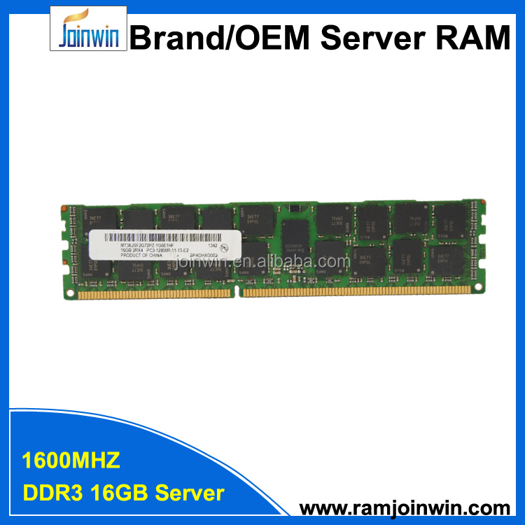 REG ECC function 2Rx4 PC3-12800R ddr3 16gb server ram memory