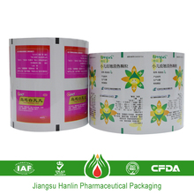 Colored medical pharmaceutical thin aluminum foil