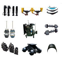 Semi trailer parts axle, King Pin, Landing gear,Container lock,leaf suspension system ,Brake Air chamber