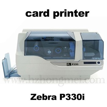 factory price high quality plastic card printers ZEBRA P330i