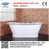 2014 hot sell two person antique cast iron bathtub