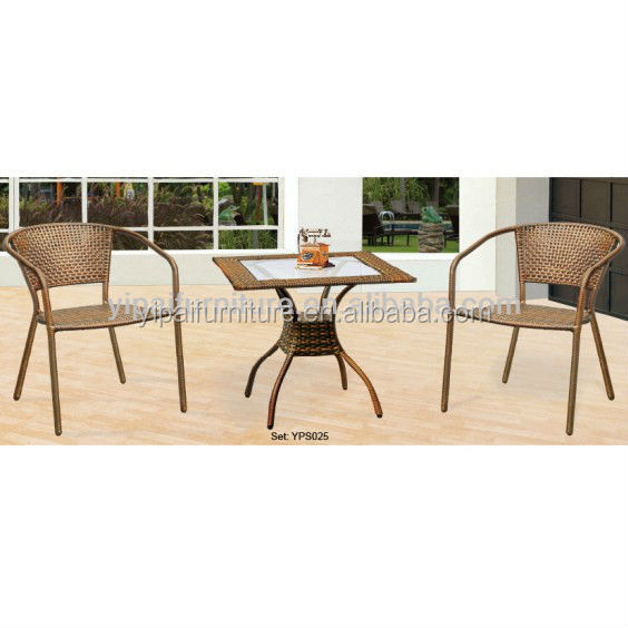 foshan cheap wicker furniture patio furniture set yps025