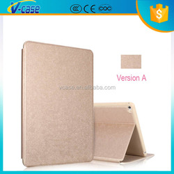 Luxury color smart tablet leather case cover for ipad air 2