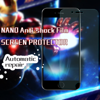 Factory Manufacturer 0.18MM Anti-shock Anti-burst Explosion-proof Nano Diamond Film Screen Protector for iPhone 6