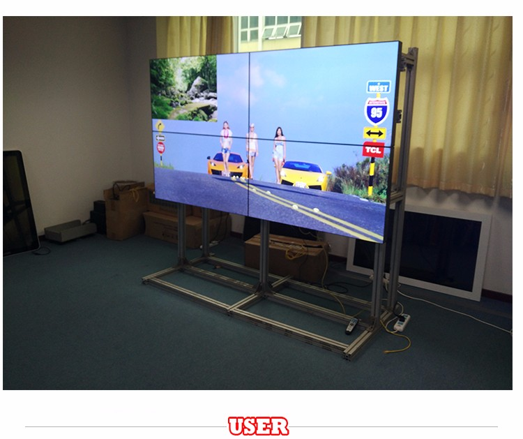 60 inch LCD Video Wall Digital Signage Advertising Display Media Player Sharp Screen