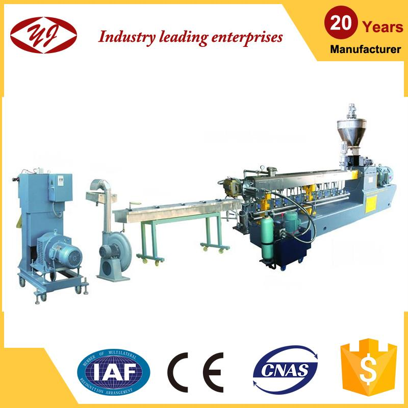 PET bottle plastic recycling machine extruder machine