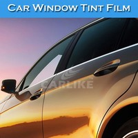 1.52x12M Factory Supply Durability Solar Foil Car Window Tint Colors