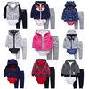 3pcs Long Sleeve Fleece Hooded Baby