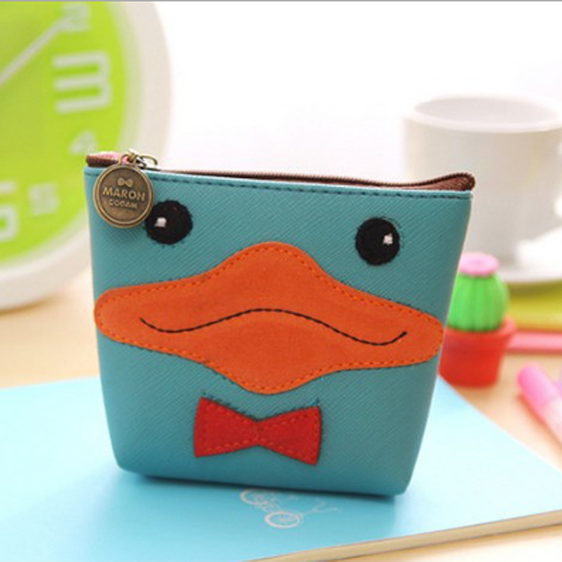 Hot sale embroidery patch PU leather novelty coin purse