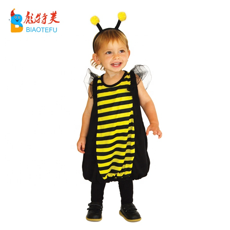 baby boys girls animal mascot bee cosplay fancy dress costume