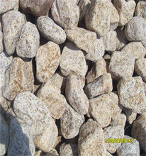 polished pebbles for landscaping garden,yellow river rock,yellow natural polished river pebble stone