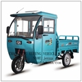 cargo with passenger electric tricycle