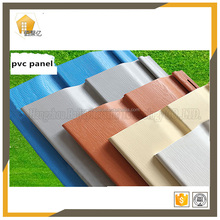 1.0-1.3mm thickness 4 different A4 size 3d decoration panel sample products manufactured home exterior wall panels