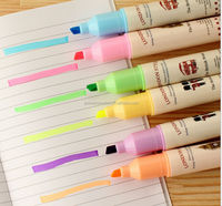 2014 Cute mini highlighter pen for students and promotion
