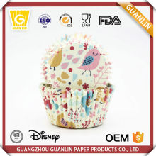 Wholesale Colorful 40-60gsm Greaseproof Printed Paper Cup mini Cupcake Cases