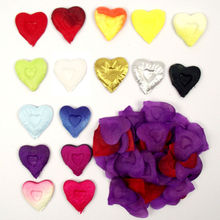 HEART SHAPE Rose Flower Petals