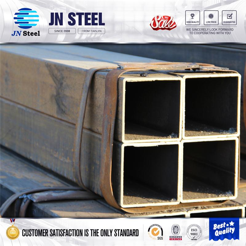 building square pipe en10210 hot formed rectangular steel pipe