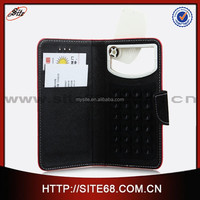 China supplier leather wallet universal decorative cellular phone case