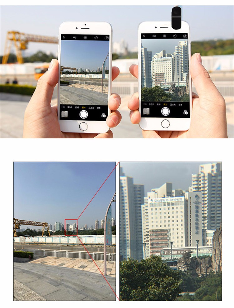 2016 new latest travel multi-functional phone camera lens kit for mobile phones