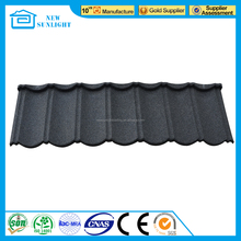 sand coated roofing in Guangzhou supplier as Rose Quality roof tile ridge cap