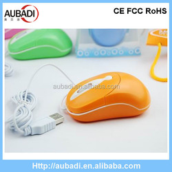 Candy color drivers usb 3D optical mouse,cute computer mouse