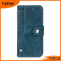 wallet phone case with rotated card slots PU&TPU leather phone cases wallet cell phone cover with card placing pockets