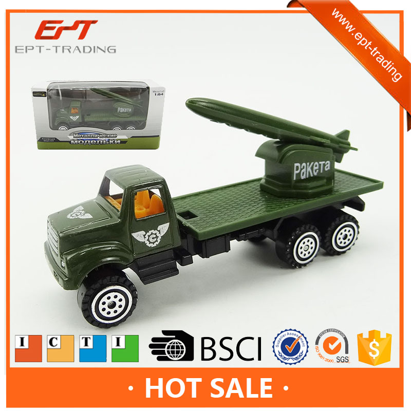 FREE-WHEEL millitary car toy alloy metal army car toys