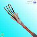 PVC insulated copper wire braiding screened multi-core control cable