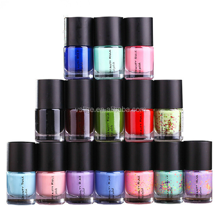 OEM/ODM high quality 8ml scentless safety environmental invigorate colorfull nail polish natural nail polish