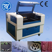 Rubber ready making stamp/ laser engraving and cutting machine NDJ6090