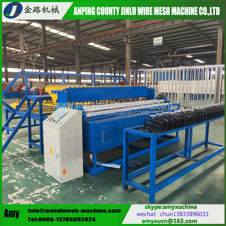 Top design reliable factory welded wire mesh machine for sale
