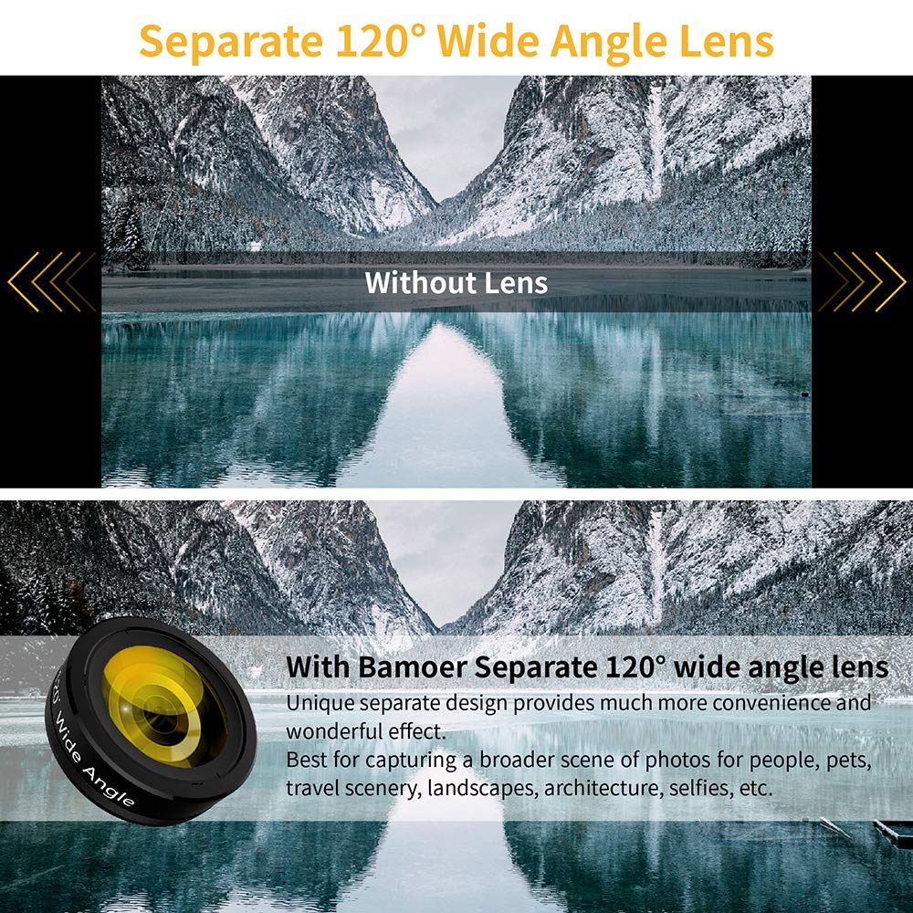 2019 fish eye 7 in 1 mobile phone wide angle zoom camera lens for Samsung galaxy mega 6.3