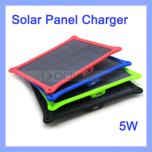 5W Solar Mobile Phone Charger Portable Travel Solar Kit
