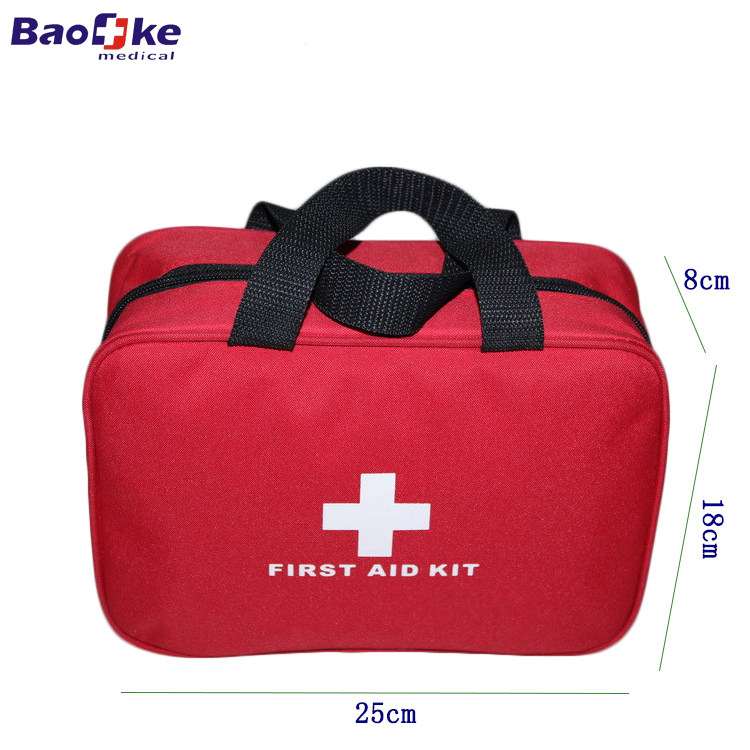 2017 NEW China supplier wholesale first aid kit bag with high quality first aid bags for the Car, Camping, Hiking, Travel