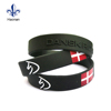 Active demand sports silicone bracelet rubber wristbands manufacturer