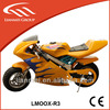 49cc mini racing motorcycle mini cross pocket bike for kids pull start with CE LMOOX-R3