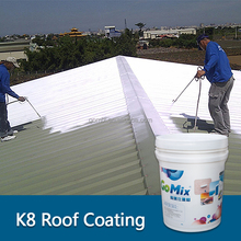 K8 heat reflecting roof paint