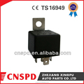 automotive relay 12v 40a 4 pin/5 pin auto relay with steel bracket