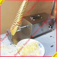 High efficiency twister tornado spiral potato cutter