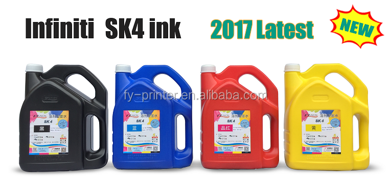 Infiniti Challenger Solvent SK4 Ink For SPT510 Printhead