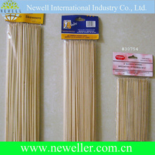 Top quality corn dog bamboo sticks for bbq