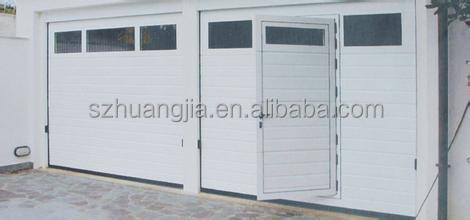 Guangdong Electric Roll Up Galvanized Steel Safe Entry Garage Doors With  Pedestrian Door Wholesale Price